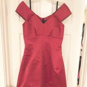 Marc Jacobs pink of the shoulder dress